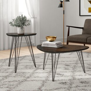Review 2 Piece Coffee Table Set