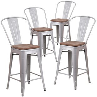 Marianne 24 Bar Stool (Set of 4) by Williston Forge