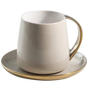 Sausalito 12 oz. Mug and Saucer