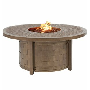 Classical Aluminum Propane Fire Pit Table