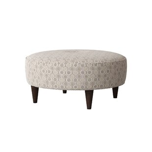 Arseni Circular Tufted Cocktail Ottoman by Red Barrel Studio
