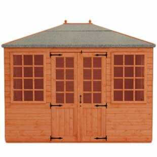Mayflower 8 X 11.5 Ft. Shiplap Summer House By Tiger Sheds