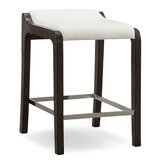 Coons Upholstered 27.5 Counter Stool (Set of 2) by Millwood Pines