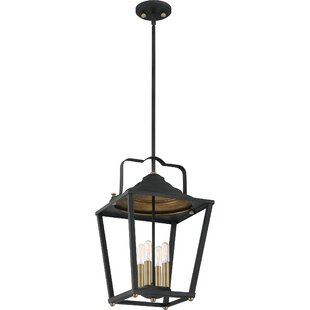Schatz 4-Light Lantern Pendant by Breakwa..