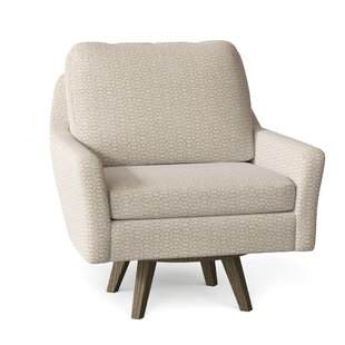 Sparta Swivel Armchair by Brayden Studio