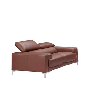Buy clear Tipton Modern Saddle Leather Loveseat by Brayden Studio Reviews (2019) & Buyer's Guide