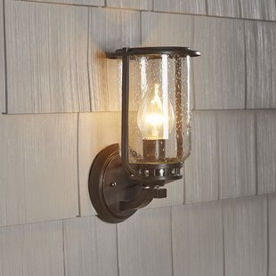 Hampton bay exterior lighting wayfair bay state 1 light outdoor wall lantern mozeypictures Images