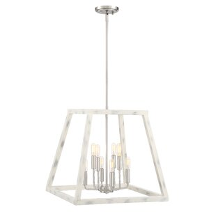 Mickle 8-Light Lantern Chandelier by Char..
