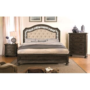 August Grove Kimberlie Transitional Upholstered Panel Bed