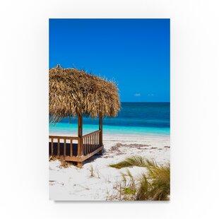Paradise Beach Photographic Print On Wred Canvas