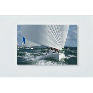 Yacht Motif Magnetic Wall Mounted Cork Board By Ebern Designs