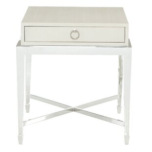 Compare prices Criteria End Table with Storage By Bernhardt