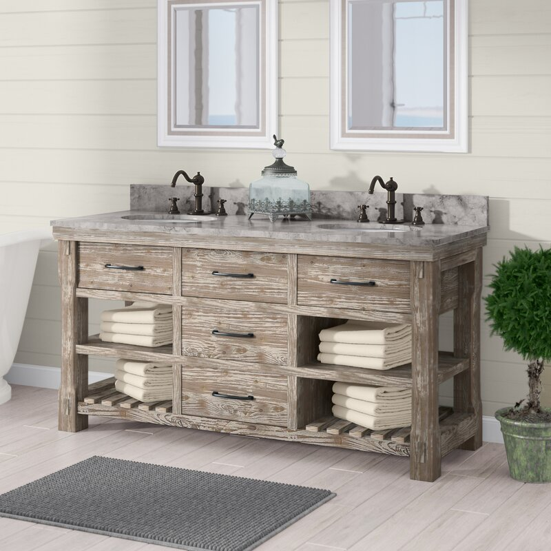 Sensational Clemmie 61 Double Bathroom Vanity Set Interior Design Ideas Gentotryabchikinfo