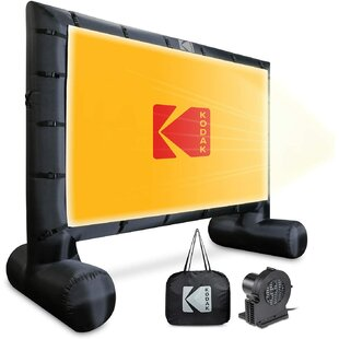 Blowup White 953 Portable Projection Screen