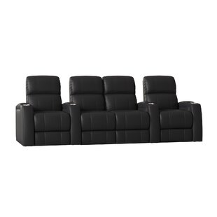Large Home Theater Row Seating (Row of 4) by Latitude Run