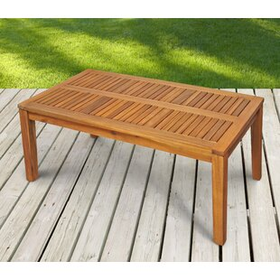 Candi Eucalyptus Coffee Table By Sol 72 Outdoor