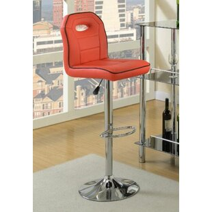 Hershman Adjustable Height Bar Stool Orren Ellis