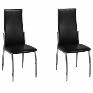 Alcorn Upholstered Dining Chair (Set of 2) Orren Ellis