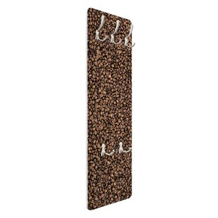 Sea Of Coffee Wall Mounted Coat Rack By Symple Stuff