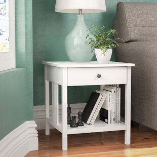 Bechtel Mission Style Wood End Table