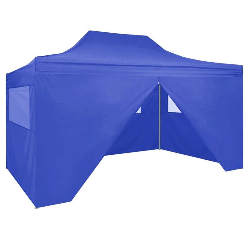 Vidaxl 13 Ft W X 10 Ft D Steel Party Tent Reviews Wayfair