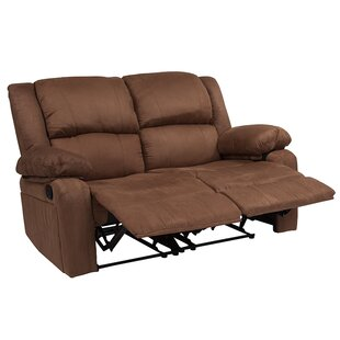 Spurrier Reclining Loveseat by Winston Porter