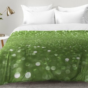 Bubbly Lime Comforter Set by East Urban Home