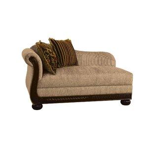Fleur De Lis Living Gosford Left Front Arm Chaise Lounge