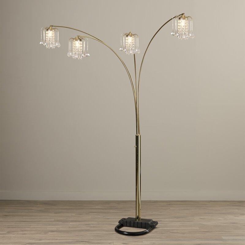 "Willa Arlo Interiors Kitson 84"" Tree Floor Lamp & Reviews"