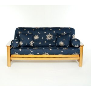 Infinity Box Cushion Futon Slipcover