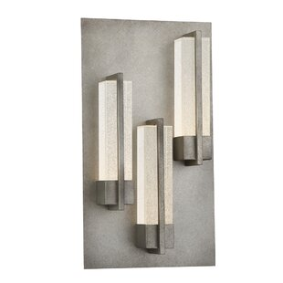 Best Reviews Marvine 3-Light LED Outdoor Wall Sconce By Latitude Run