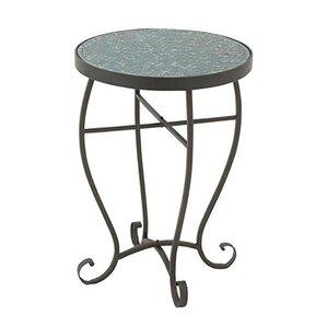 Lilliana Mosaic Metal End Table by Ophelia & Co.