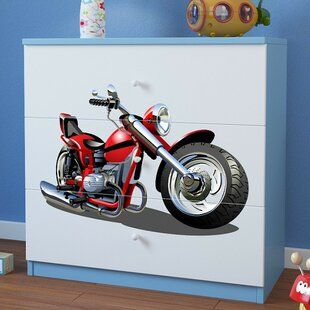 Ceniceros 3 Drawer Dresser By Zoomie Kids