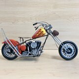 Custom Motorcycle MAILBOX TOPPER Metal Address Sign Personalized Fatboy Twin Cruiser
