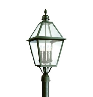 Darby Home Co Theodore 4-Light Incandescent Metal Lantern Head
