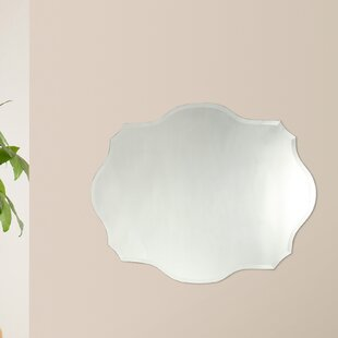 House of Hampton Mccroy Frameless Wall Mirror