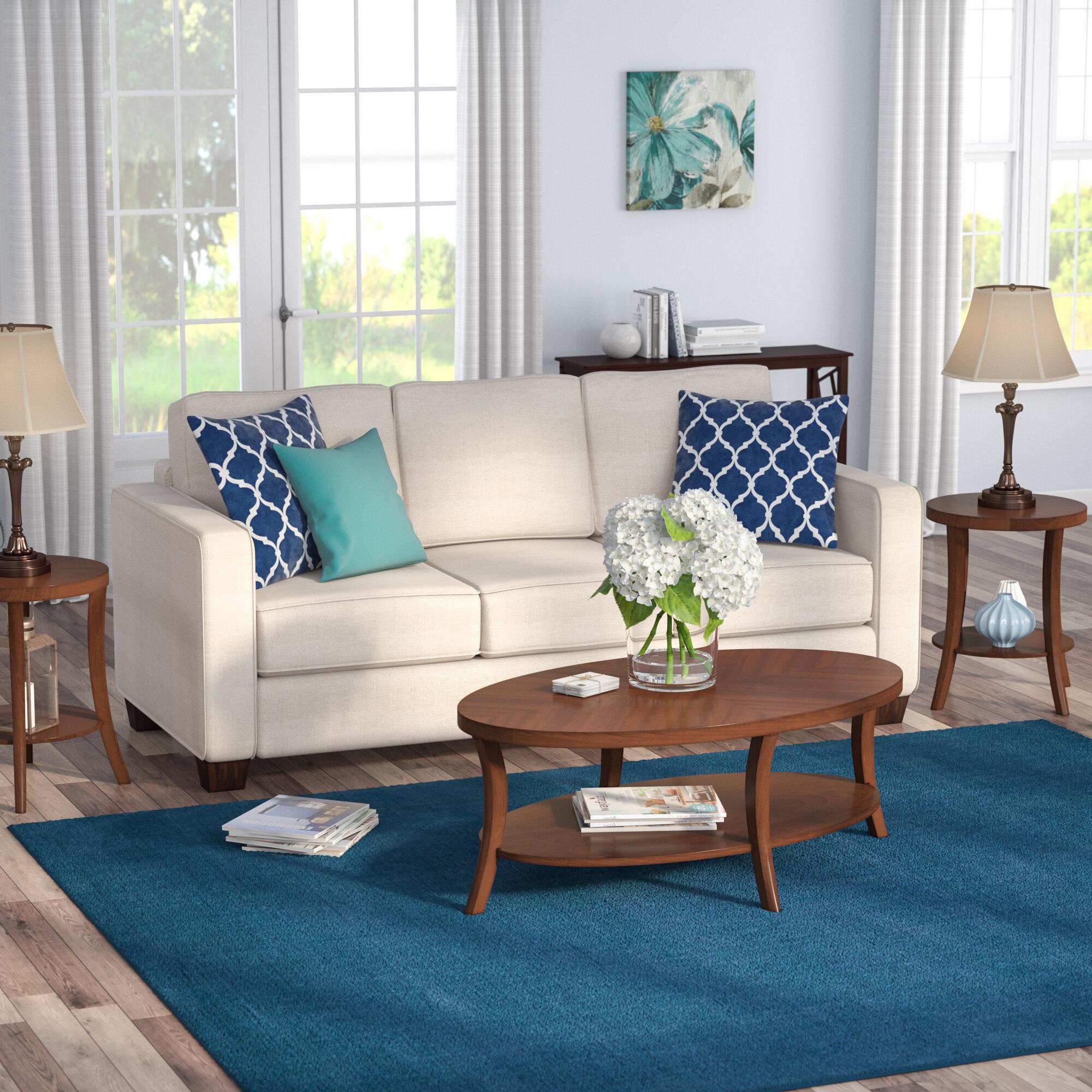Charlton Home Wenona Transitional 3 Piece Coffee Table Set Reviews Wayfair