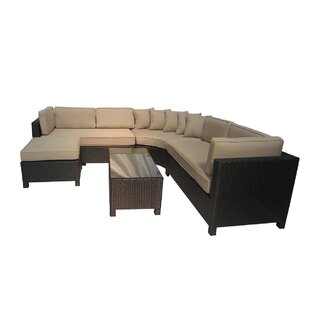 Breakwater Bay Brookfield 5 Piece Sectional Set with Cushions