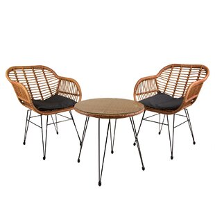 Jormundagand 2 Seater Rattan Conversation Set By Sol 72 Outdoor