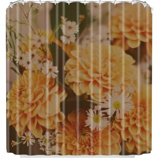 Autumn Floral Single Shower Curtain