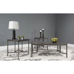 Williston Forge Albro 3 Piece Coffee Table Set