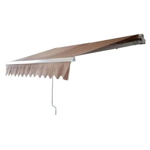 Newacme LLC MCombo 12 ft. W x 10 ft. D Retractable Patio Awning