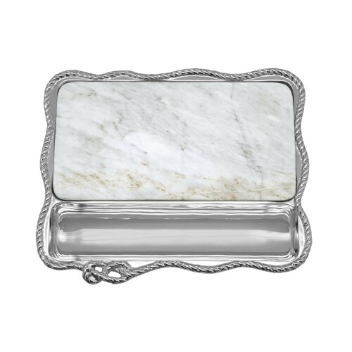 Mariposa High Seas Rope Statement Tray Wayfair