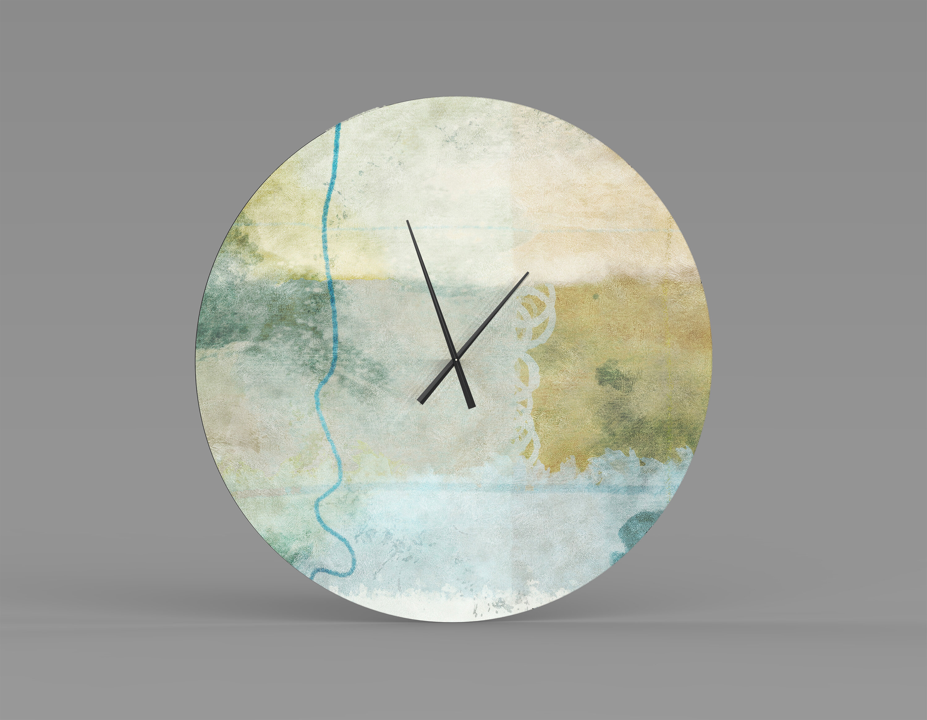 Orren Ellis Oversized Harborside Wall Clock Wayfair