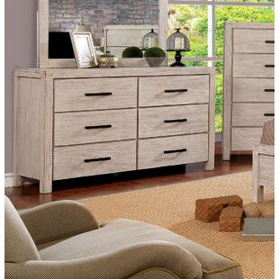 Affordable Mcmillion 6 Drawer Double Dresser by Gracie Oaks