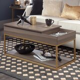 Broadridge Coffee Table with Tray Top and Storage by Willa Arlo Interiors
