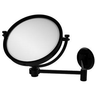 Searching for Extend 5X Magnification Wall Mirror with Groovy Detail ByAllied Brass