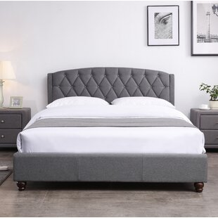 Stroble Upholstered Bed Frame By Marlow Home Co.