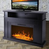 Quinte TV Stand for TVs up to 40 with Electric Fireplace Included by Red Barrel Studio®