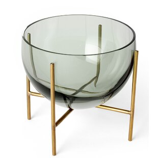 "Natural D/écor Measures 6/"" Diameter and 1.75/"" Tall Serene Spaces Living Oblong Teak Bowl"